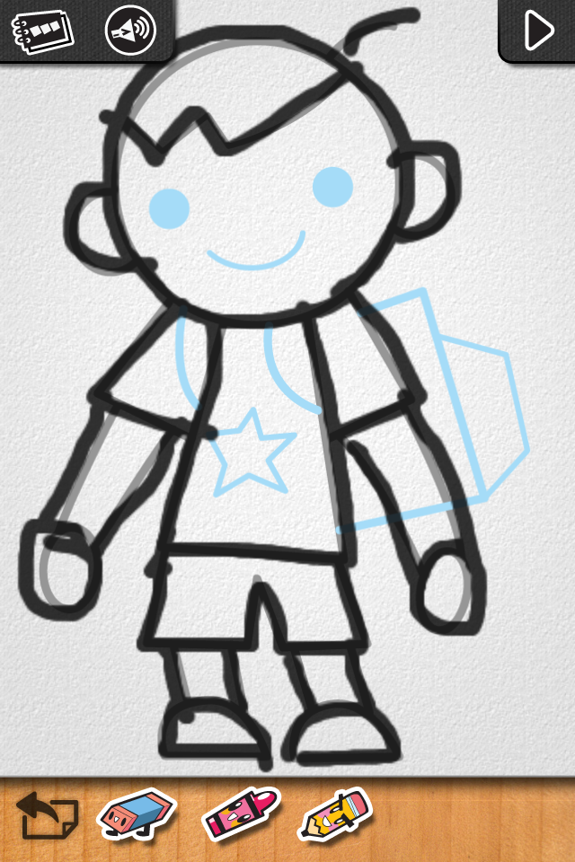 iLuv Drawing People - Learn How to Draw Kids doing their favorite things. - Educational App